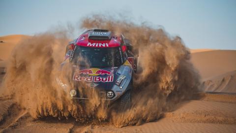 Mini en el Rally de Marruecos