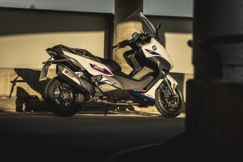 Nuevo BMW C 650 Motorsport