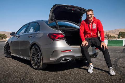 Prueba del Clase A Sport Sedan