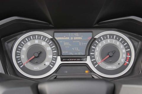 Prueba Honda Forza 125 2018