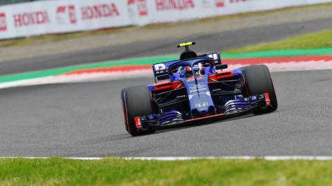 Toro Rosso en Japón