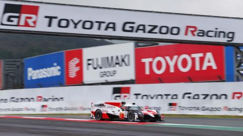 Toyota TS050 Hybrid en Fuji