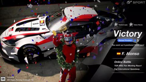 Victoria de Alonso en Gran Turismo