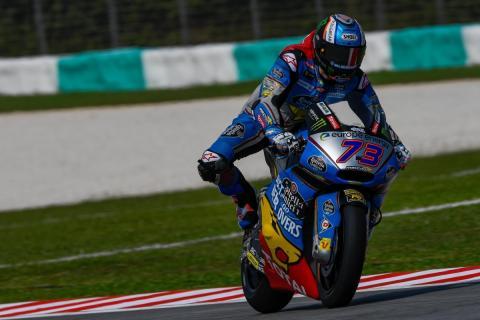 Álex Márquez domina los Libres Moto2 Malasia 2018