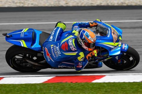 Álex Rins domina los Libres MotoGP Malasia 2018