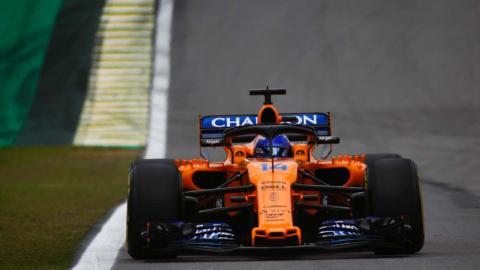 Alonso en la clasificación de Brasil