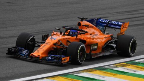 Alonso en los Libres 2 GP Brasil