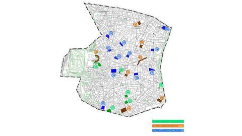 Aparcamientos autorizados Madrid Central