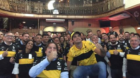Carlos Sainz en Brasil
