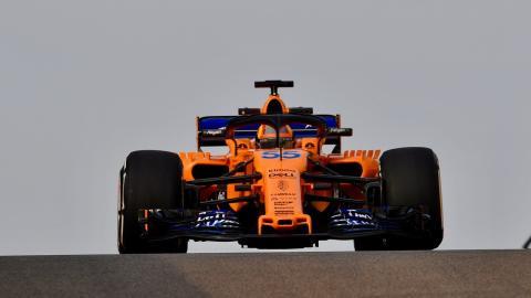Carlos Sainz con McLaren