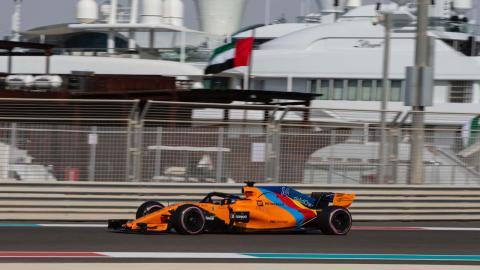 Clasificación de Alonso en Abu Dhabi