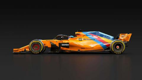 Coche de Alonso para Abu Dhabi