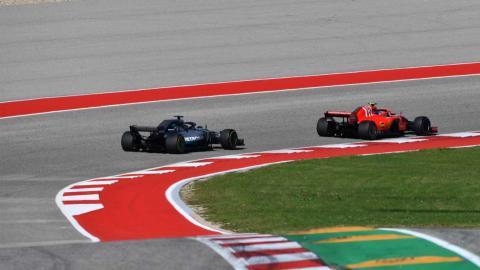Coches F1 Austin