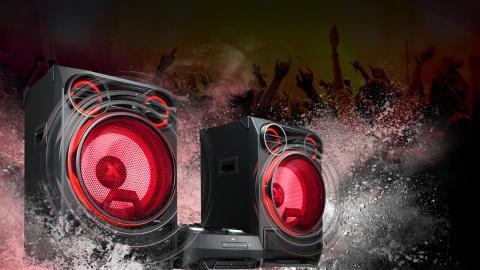 Conoce a La Bestia, el sistema de sonido de alta potencia de LG