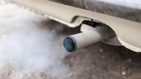 aire contaminado humo