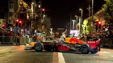 Exhibición de Red Bull en Belfast
