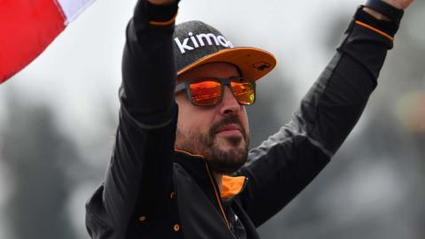 Fernando Alonso en México