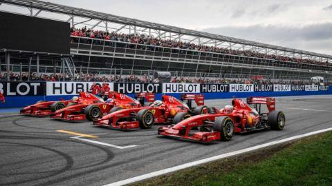Ferrari F1 en las Finali Mondiali