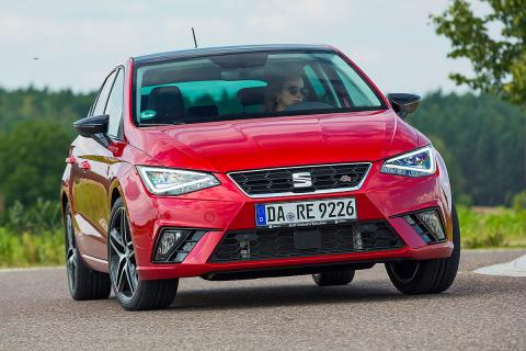 Ford Fiesta, Seat Ibiza y Suzuki Swift