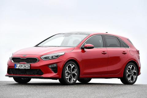 Ford Focus vs Kia Ceed y Volkswagen Golf