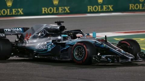 Hamilton en Abu Dhabi