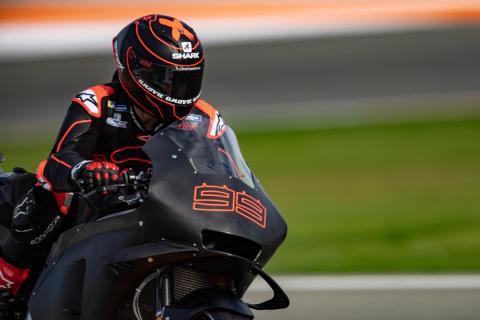 Jorge Lorenzo mejora con la Honda