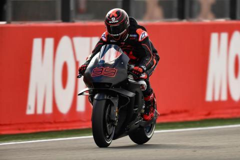 Jorge Lorenzo - Test MotoGP Valencia 2018