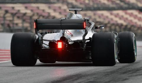 Luces lluvia Mercedes F1