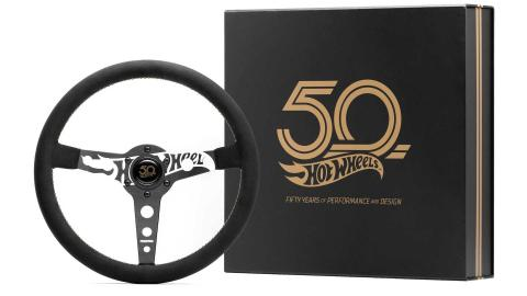 Momo x Hot Wheels 50th Anniversary Steering Wheel