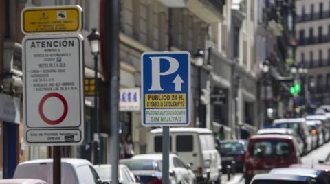 Parkings autorizados Madrid Central
