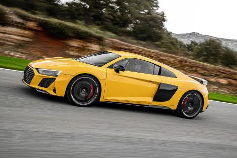 Prueba: Audi R8 Performance quatro