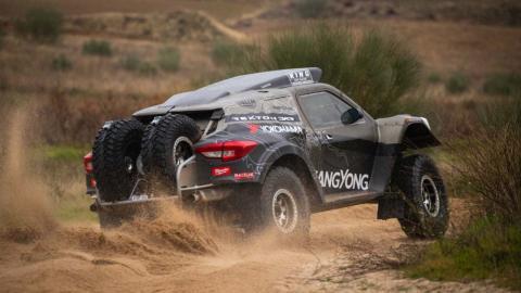 SsangYong Rexton Dakar 2019