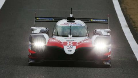 Toyota TS050 Hybrid China