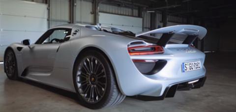 VÍDEO: el Porsche 918 Spyder PHEV, a prueba