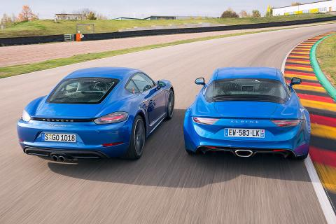 Alpine A110 vs Porsche 718 Cayman