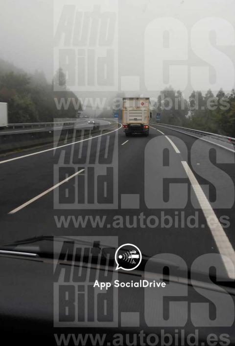 Camión camuflado de la DGT