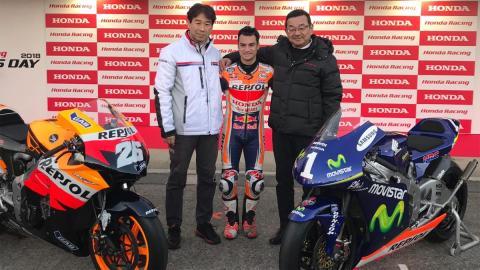 moto presente Honda RS250RW Honda RCV212