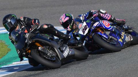 Hamilton test Superbikes