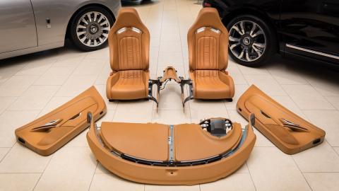 Interior Bugatti Veyron a la venta