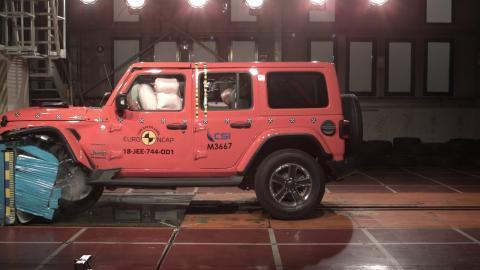 Jeep Wrangler Euro NCAP