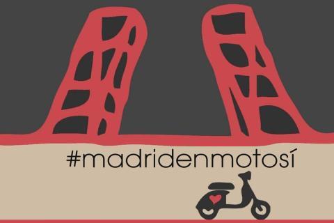 manifestacion cartel motoristas motos