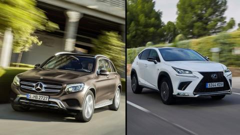 Mercedes GLC vs Lexus NX