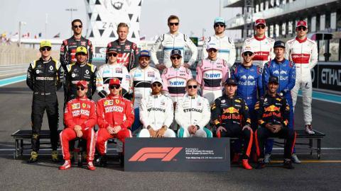 Pilotos F1 Abu Dhabi