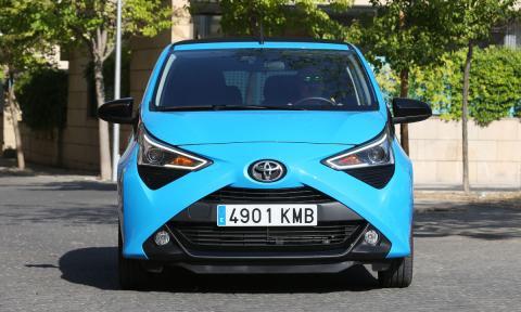 Prueba del Toyota Aygo 70 x-shift