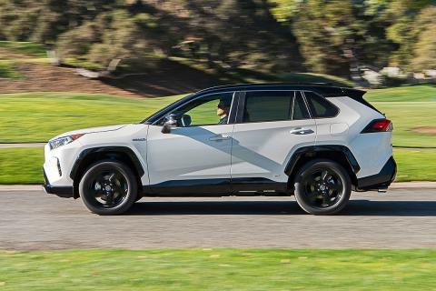 Prueba del Toyota RAV4 2019