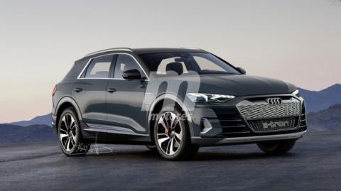 Render: Audi e-tron SUV