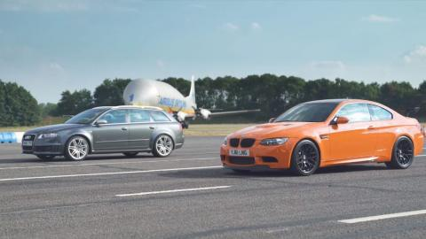 BMW M3 GTS E92 vs Audi RS 4 Avant B7