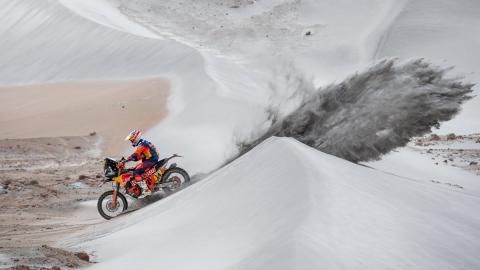 Dakar 2019 rally arena dunas