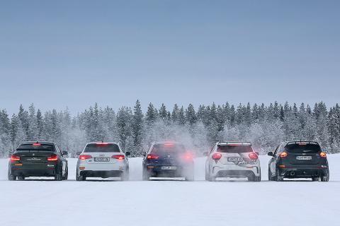 5 compactos tuneado en la nieve