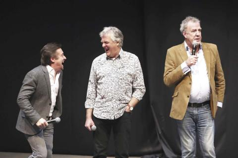 Hammond, May, Clarkson, The Grand Tour, 2019